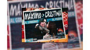 Aníbal Fernández criticó los afiches de Máximo