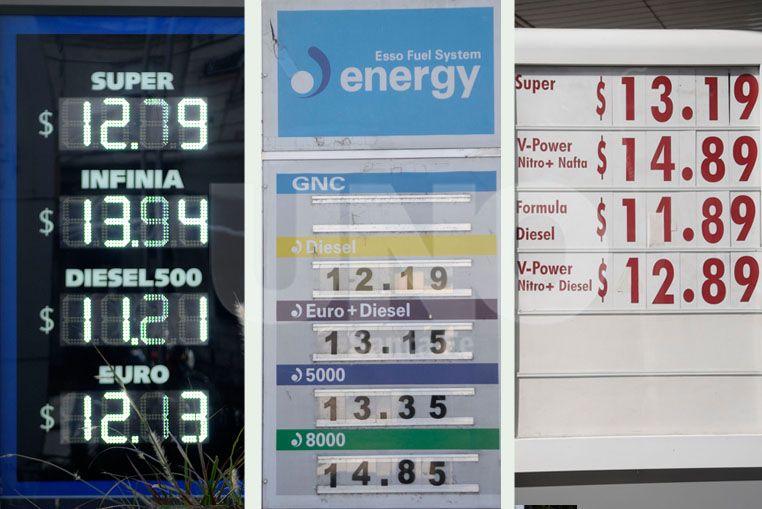 Estos son los nuevos precios de combustibles de YPF