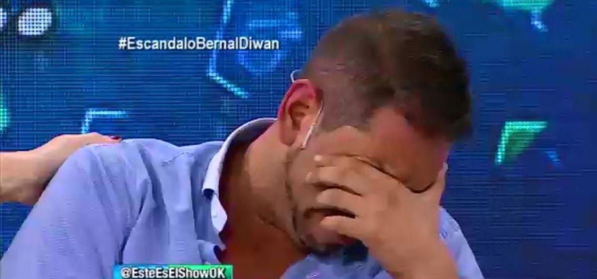 Ariel Diwan confesó que pensó en suicidarse y se descompensó en vivo