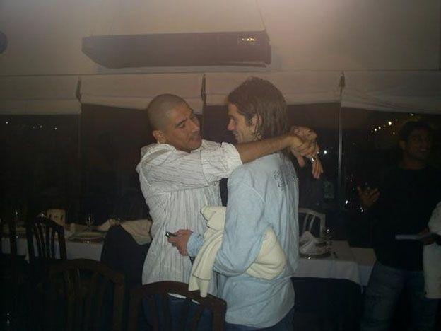 ¡La foto que está dando que hablar! Gago y el Cata, acaramelados en una cena
