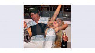 Las primeras fotos de Gisela Bernal con Francisco Delgado, el supuesto padre de su hijo