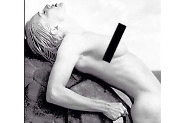 Madonna enojada con Instagram por borrar una foto en topless