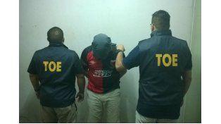 La TOE detuvo a un hombre que estaba prófugo por un caso de corrupción de menores