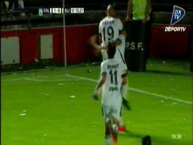Con gol de Braian Romero, Colón volvió a la victoria y derrotó 1 a 0 a Olimpo