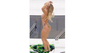 El topless de la Miss Bum Bum 2014