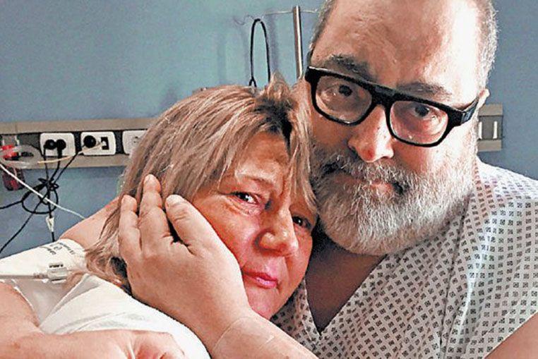 Lanata: las esperanzas, luego de su inédito trasplante cruzado