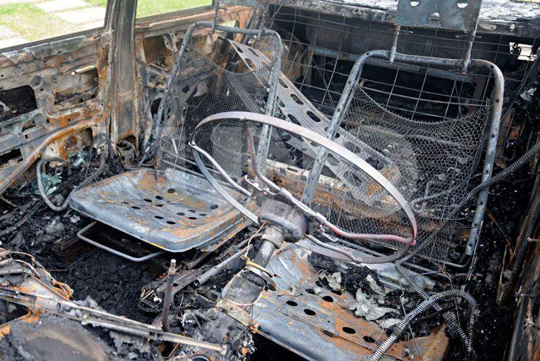 Llamativo. El 26 de marzo se quemaron tres coches