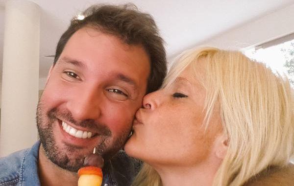 Nazarena salió a bancar a su pareja Gonzalo Gamara