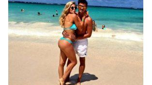 Virginia Gallardo presentó en sociedad a su pareja en Punta Cana