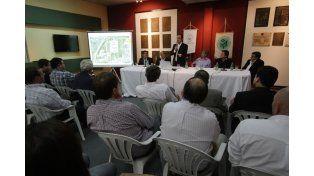 Alta convocatoria. Numerosos dirigentes participaron de la presentación.