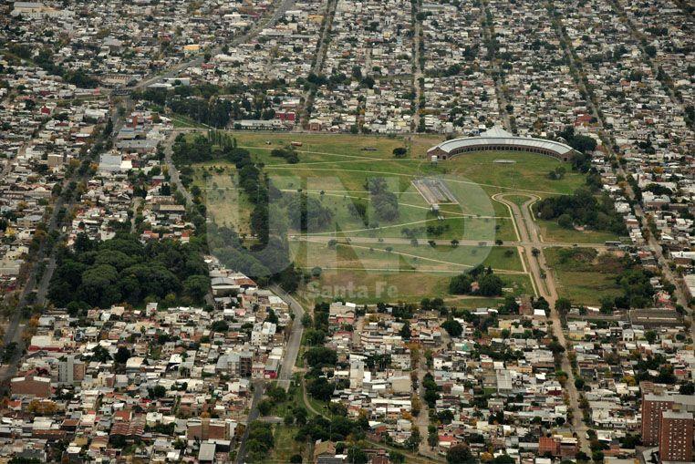 El pulmón más grande. En el corazón geográfico de la ciudad