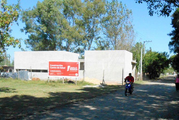 Etapa final para la construcción del nuevo centro de salud en Bº Varadero Sarsotti