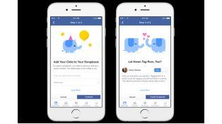 Facebook prueba un álbum de recortes para las fotos de tus hijos