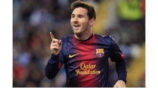 Messi se entrenó con el Barcelona y jugará el domingo ante el Celta