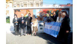 La comisión que integra la asociación civil Plaza del Soldado.