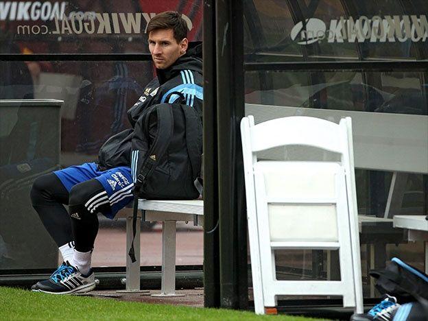 Impresionante: así está el pie de Lionel Messi