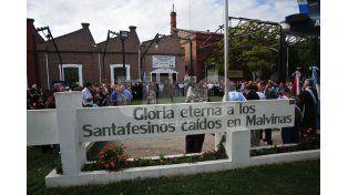 El centro de ex-combatientes ubicado sobre Pedro Vittori.