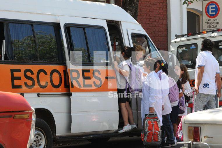 A partir de marzo, el costo del transporte escolar arrancará en $1.500