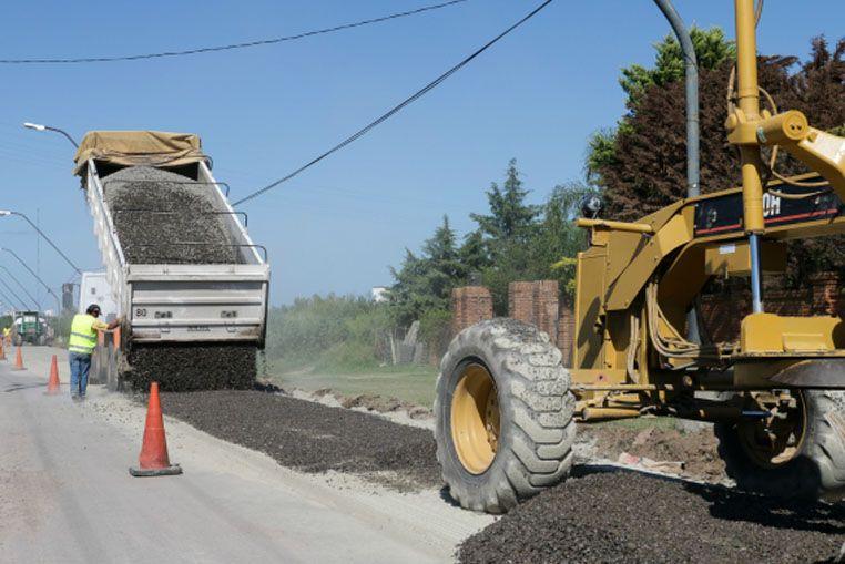 Alto Verde: vecinos acompañan las obras de pavimentación del acceso al barrio