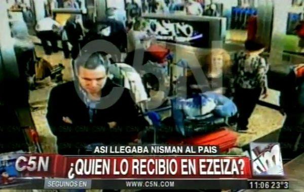 La fiscalía pidió investigar el seguimiento de cámaras sobre Nisman en Ezeiza