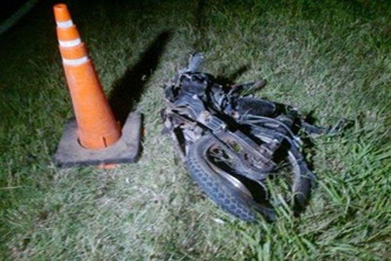 Un rayo mató a un motociclista oriundo de Sa Pereira