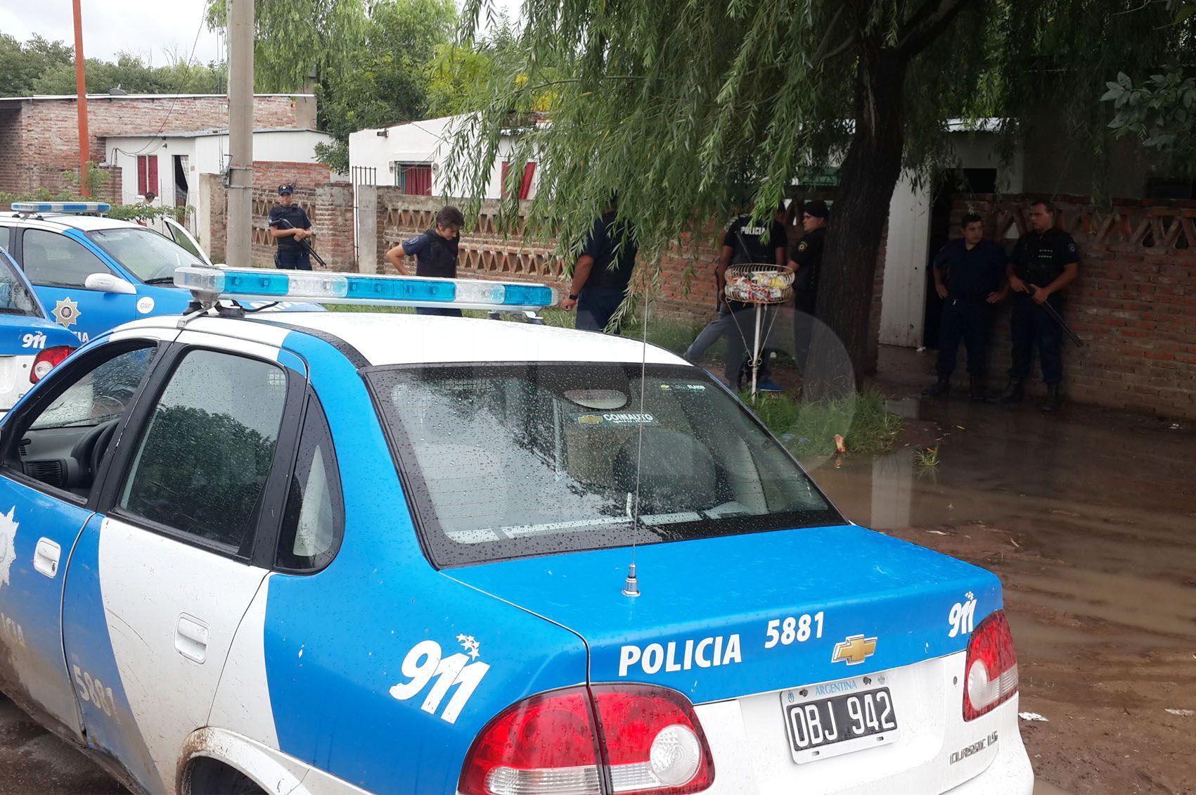 Persecución, tiros y un detenido en el barrio Yapeyú