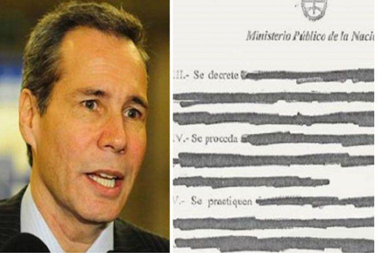 El borrador de la denuncia de Nisman contra Cristina Kirchner
