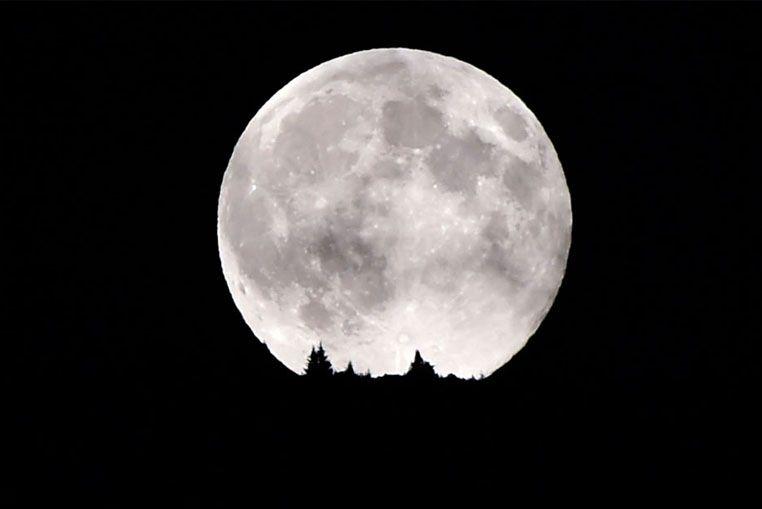 Para el primer día del año... una Superluna