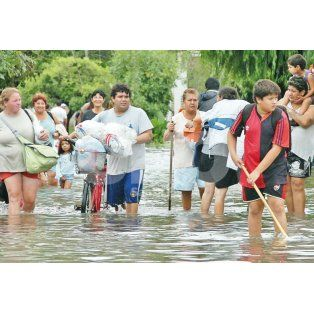 en 2003 y en 2007: inundaciones que dejaron cicatrices de por vida