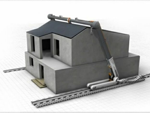 Impresora 3d gigante capaz de construir una casa for Construir casas en 3d