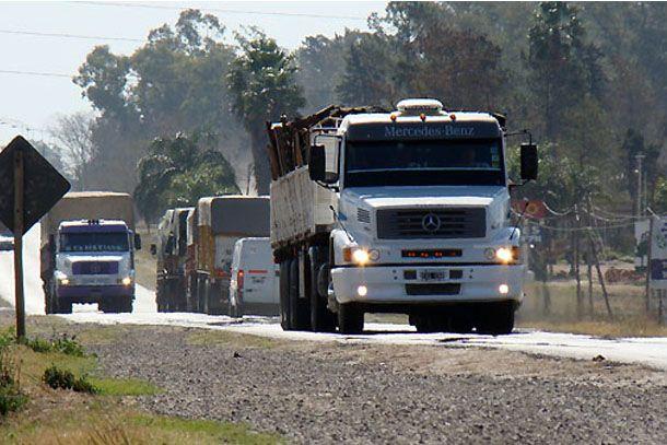 Habrá restricción de circulación de camiones por el fin de semana largo