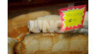 El kilo de pan alcanzó los $14,5 a raíz del aumento en la harina