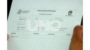 Advierten sobre errores en las boletas de la Patente Automotor