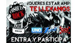 UNO Santa Fe y GO Producciones quieren rock!