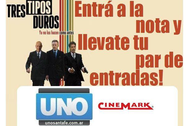 Los ganadores para ver TRES TIPOS DUROS