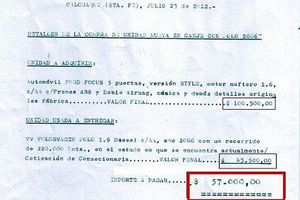 Insólito: un cura de Calchaquí pidió $57.000 al municipio para cambiar el auto
