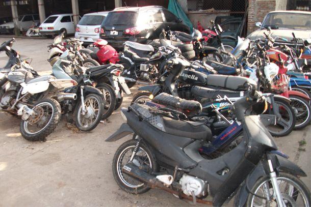 La policía recuperó 23 motos en la última semana en Santa Fe