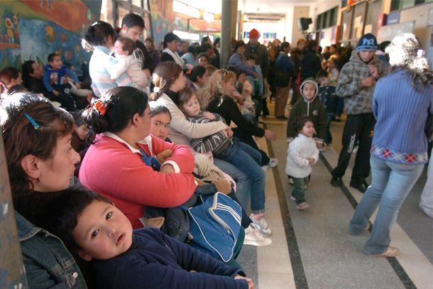 Hospital de Niños: el 80 por ciento de las consultas son respiratorias