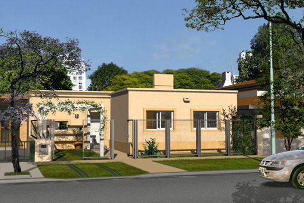 Se dieron a conocer los modelos de las casas del plan Procrear