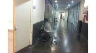 Congelaron en una foto la imagen de un fantasma en un hospital del sur provincial