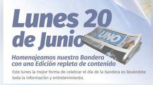 Este 20 de Junio el UNO celebra el Día de la Bandera con una súper edición