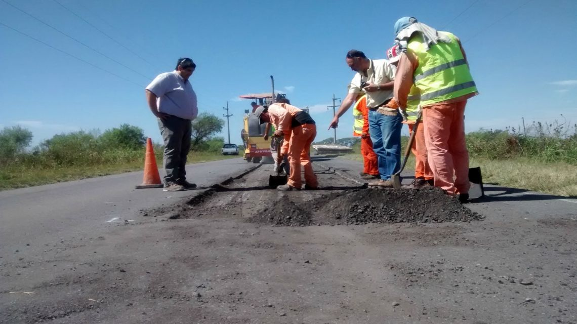 Invertirán más de $230 millones en obras de bacheo en rutas santafesinas
