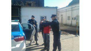 Arrestado. Al ser recapturado por el Comando Radioelectrico el hombre fue puesto en manos de la Justicia.