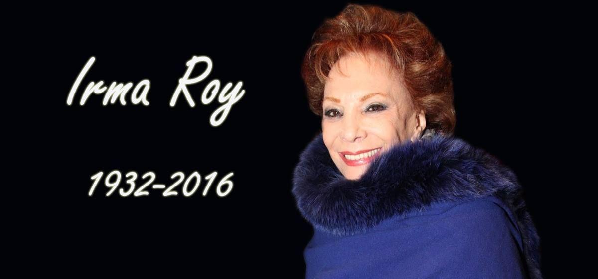 Murió Irma Roy