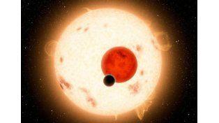 ¿FANTASÍA? Así se vería el planeta descubierto. (Foto: imagen digital difundida por la NASA)