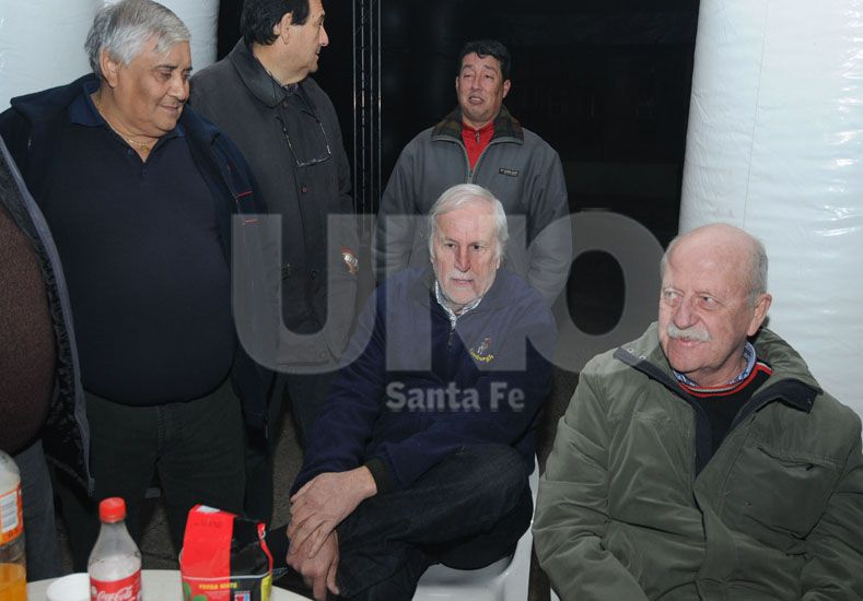 José Vignatti junto al vicepresidente segundo
