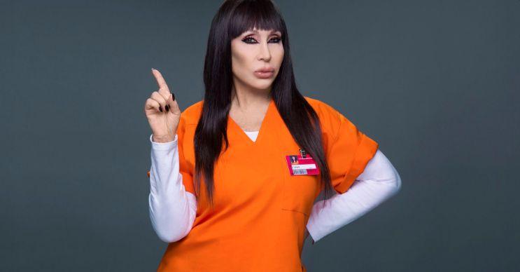 Moria Casán llegó a Orange Is The New Black