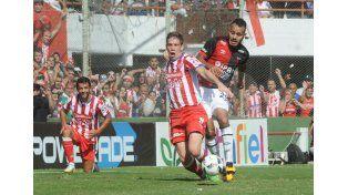 Uno de los partidos que se destacó aunque no anotó un gol fue en el segundo clásico ante Colón. Foto: Manuel Testi / UNO Santa Fe
