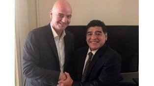 Diego Maradona no será veedor, dijo Gianni Infantino