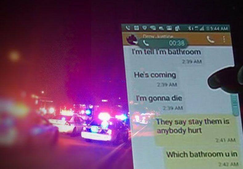 El último mensaje de una de las víctimas de Orlando a su mamá: Voy a morir